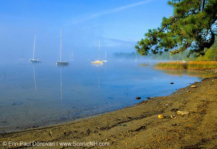 Lake Massabessic in Auburn, New Hampshire USA