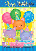 Janet, CHILDREN BOOKS, BIRTHDAY, GEBURTSTAG, CUMPLEAÑOS, paintings+++++,USJS560,#bi#, EVERYDAY ,balloons