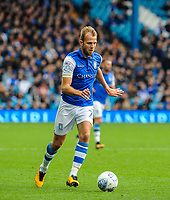 Sheffield Wednesday's forward Jordan Rhodes (7) during the Sky Bet Championship match between Sheff Wednesday and Barnsley at Hillsborough, Sheffield, England on 28 October 2017. Photo by Stephen Buckley / PRiME Media Images.