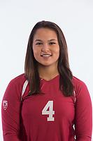 Stanford, CA - February 02, 2018. Stanford Women's Volleyball Portraits