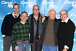 Jerry Mitchell, Marc Shaiman, Scott Whittman, Terrence McNally, Jack O'Brien.attending Meet & Greet for the New Broadway Musical 'Catch Me If You Can'  at the 42ns Street Rehearsal Studios in New York City.