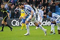 KILMARNOCK'S MANUEL PASCALI (29) CELEBRATES AFTER HE SCORES KILLIE'S FIRST