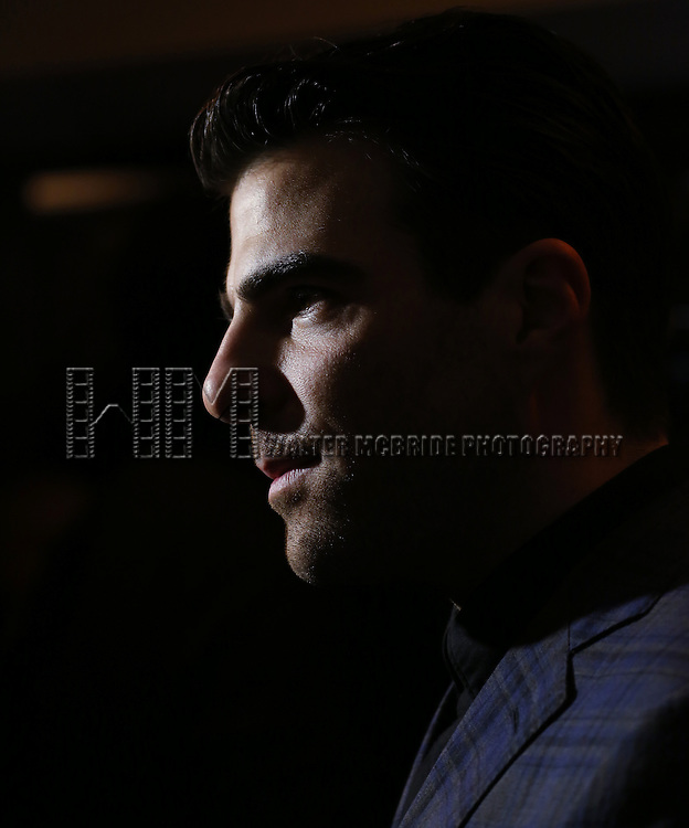 Zachary Quinto 'In The Spotlight' at the Broadway Opening Night After Party for 'The Glass Menagerie' at the Redeye Grill on September 26, 2013 in New York City.