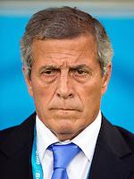 Uruguay manager Oscar Washington Tabarez