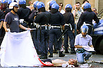 Protestor Guilliani Guilliano,shot dead by Carabineri during the G8 riots in genova.