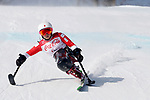 Momoka Muraoka (JPN), <br /> MARCH 10, 2018 - Alpine Skiing : <br /> Women's Downhill Sitting <br /> at Jeongseon Alpine Centre  <br /> during the PyeongChang 2018 Paralympics Winter Games in Pyeongchang, South Korea. <br /> (Photo by Yusuke Nakanishi/AFLO SPORT)