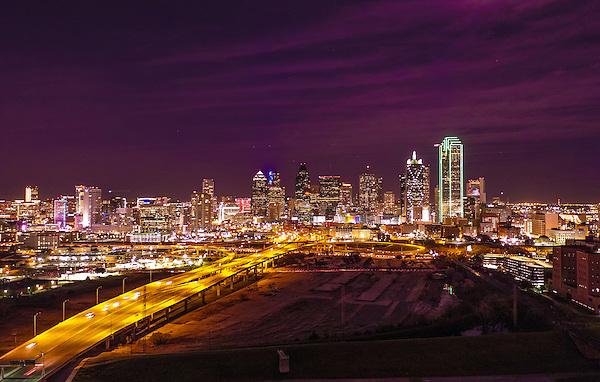 City Scape-Dallas Texas