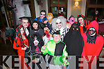 Fright Night.------------.Staff and patrons of Gally's bar/restaurant,Castlemaine Rd,Tralee dressed to impress at their annual scary Halloween party last Saturday night where the guys told some of the women to leave the masks on permanently.