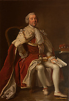 William, fifth Earl of Dumfries, builder of the house, by Thomas Hudson