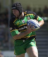 01/06/2002.Sport -Rugby  Union.Zurich Championship - Semi final.Bristol Shoguns_vs_Northampton Saints.Craig Moir   [Mandatory Credit, Peter Spurier/ Intersport Images].