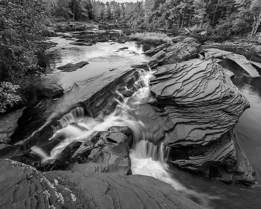 Bonanza Falls in the UP of Michigan near Silver City