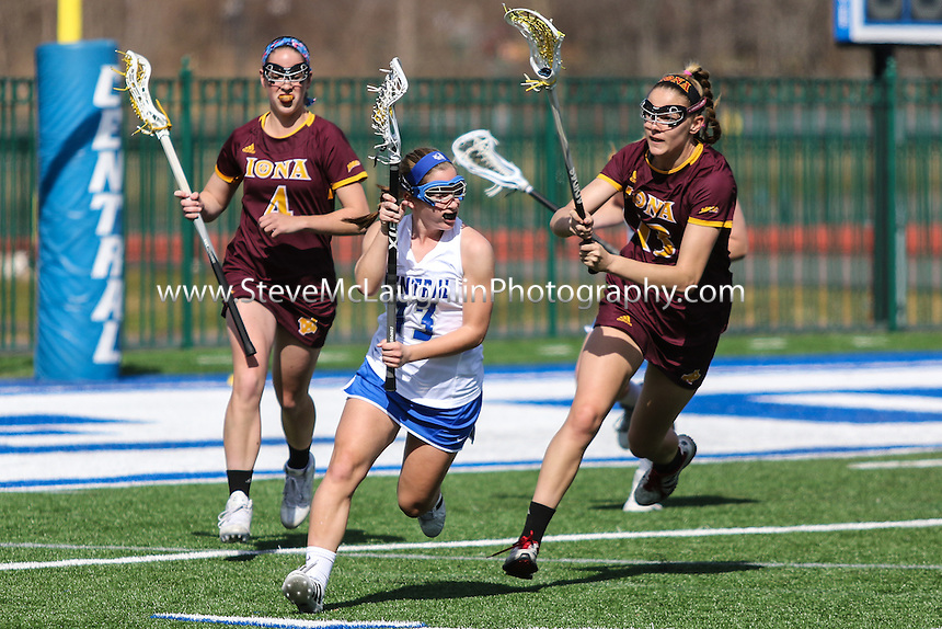 3/12/2016  TJ Dowling |Central Connecticut State University vs. Iona College <br /> <br /> Canon EOS 7D Mark II, EF70-200mm f/2.8L USM, @ f2.8, 1/5000, ISO 160