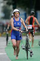 02 SEP 2007 - HAMBURG, GER - Rhian Roxburgh (GBR) - World Age Group Triathlon Championships. (PHOTO (C) NIGEL FARROW)