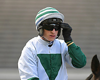 Jockey Tom O' Brian during Horse Racing at Plumpton Racecourse on 4th November 2019