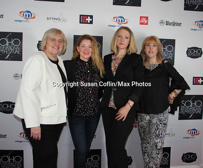 Candy Straight, Cady McClain, Kate Super, Suzanne Curry - Seeing is Believing: Women Direct at its East Coast Premiere at Soho International Film Festival on June 19, 2017 in New York City, New York.(Photos by Sue Coflin/Max Photos)