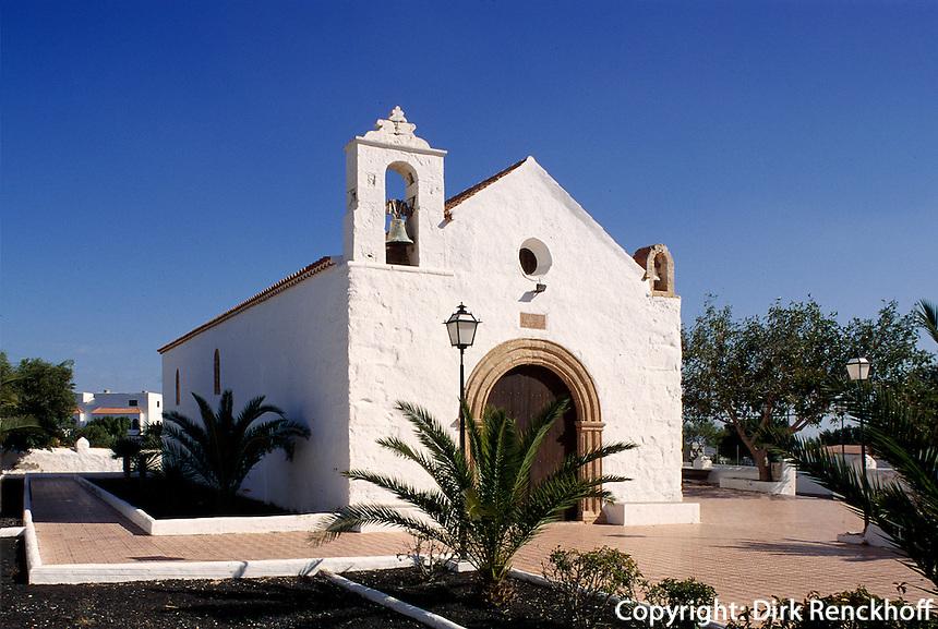 Spanien, Kanarische Inseln, Fuerteventura, Ermita de San Marcos in Tiscamanita