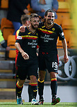 Steven Lawless and Ryan Edwards celebrate