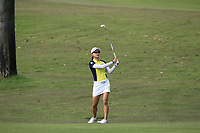 Minjee Lee (AUS) in action on the 1st during Round 3 of the HSBC Womens Champions 2018 at Sentosa Golf Club on the Saturday 3rd March 2018.<br /> Picture:  Thos Caffrey / www.golffile.ie<br /> <br /> All photo usage must carry mandatory copyright credit (&copy; Golffile   Thos Caffrey)