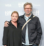 Lili Fini Zanuck and Eric Clapton attend the 'Eric Clapton: Life in 12 Bars' photo call during the 2017 Toronto International Film Festival at TIFF Bell Lightbox on September 11, 2017 in Toronto, Canada.