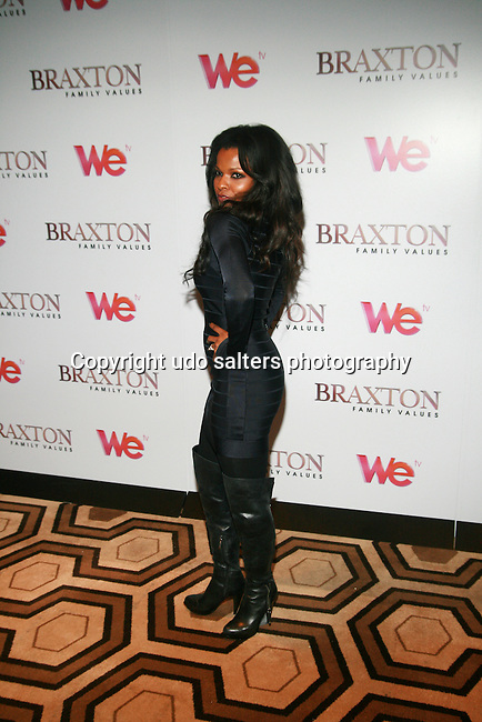 Actress Keesha Sharp Premiere Screening of BRAXTON FAMILY VALUES Season 2 Held at Tribeca Grand, NY 11/8/11