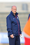 20 May 2014: U.S. assistant coach Brian Bliss. The Under-20 United States Men's National Team played a scrimmage against a team composed of players from the Carolina RailHawks and the Capital Area RailHawks Academy Under-18 squad WakeMed Stadium in Cary, North Carolina. The combined RailHawks team won the game 2-1.