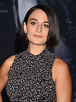 WESTWOOD, CA - OCTOBER 01: Jenny Slate attends the Premiere Of Columbia Pictures' 'Venom' at Regency Village Theatre on October 1, 2018 in Westwood, California.<br /> CAP/ROT/TM<br /> ©TM/ROT/Capital Pictures