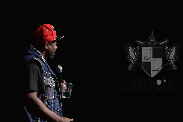 MIAMI, FL - MAY 26: Actor / comedian Corey Holcomb performs at the 6th Annual Memorial Day Weekend Comedy Festival at James L. Knight Center on May 26, 2013 in Miami, Florida. (Photo by Johnny Louis/jlnphotography.com)
