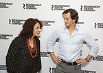 Stockard Channing and Hugh Dancy attends the photo call for the Roundabout Theatre Company Production of 'Apologia'  on September 5, 2018 at the Roundabout Rehearsal Studios in New York City.