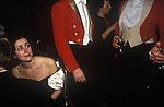 Upper Tysoe, Warwickshire. 1982<br /> The end of season Warwickshire Hunt Ball at Tysoe Manor.
