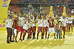Atlético Nacional venció 1-0 a Deportes Tolima (1-1 en el global y 2-4 en penales). Deportes Tolima se coronó campeón de la Liga Águila I-2018.