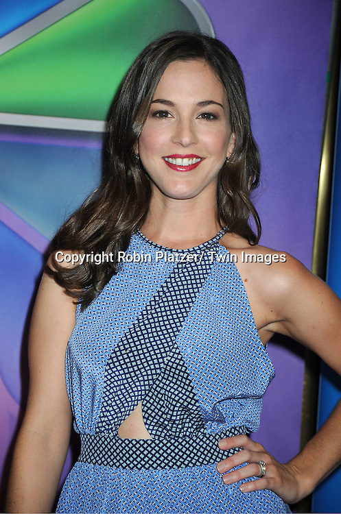 cast of 1600 Penn, Martha MacIsaa attends the NBC Upfront Presentation of 2012-2013 Season at Radio City Music Hall on May 14, 2012 in New York City.