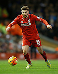 Adam Lallana of Liverpool in action - English Premier League - Liverpool vs Manchester City - Anfield Stadium - Liverpool - England - 3rd March 2016 - Picture Simon Bellis/Sportimage