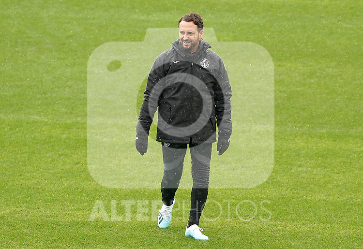Getafe CF's coach Jose Bordalas during training session. October 23,2019.(ALTERPHOTOS/Acero)