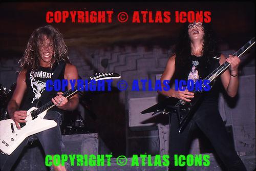 METALLICA, LIVE, 1986, NEIL ZLOZOWER