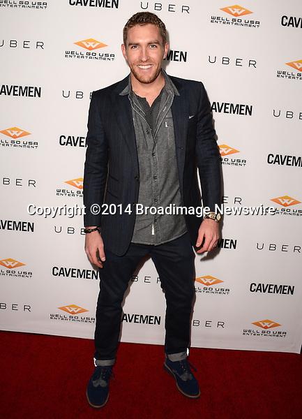 Pictured: Daved Wilkins<br /> Mandatory Credit: Luiz Martinez / Broadimage<br /> CAVEMAN Los Angeles Premiere<br /> <br /> 2/5/14, Hollywood, California, United States of America<br /> Reference: 020514_LMLA_BDG_090<br /> <br /> sales@broadimage.com<br /> Bus: (310) 301-1027<br /> Fax: (646) 827-9134<br /> http://www.broadimage.com