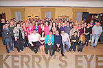 Bridget and John Dineen, Coolbane, Faha, pictured with their family and friends as they celebrated their 25th wedding anniversary in The Manor Inn, Killorglin on Saturday night...