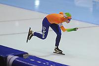 SCHAATSEN: HEERENVEEN: IJsstadion Thialf, 16-11-2012, Essent ISU World Cup, Season 2012-2013, Ladies 3000 meter Division A, Antoinette de Jong (NED), ©foto Martin de Jong