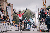 Tim Wellens (BEL/Lotto-Soudal) winning the Trofeo Lloseta - Andratx (140km) for a 2nd year in a row<br /> <br /> 27th Challenge Ciclista Mallorca