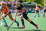 AMSTELVEEN  -  Noor de Baat (A'dam)    . Hoofdklasse hockey dames ,competitie, dames, Amsterdam-Groningen (9-0) .     COPYRIGHT KOEN SUYK