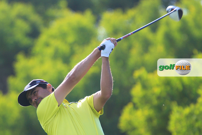 Felipe Aguilar (CHI) in action  during the second round of the 40th Trophee Hassan II played at the Golf du Palais Royal d'Agadir, Agadir, Morocco 28 - 31 March 2013. (Picture Credit / Phil Inglis) www.golffile.ie