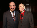 Rupert Holmes and Richard Holmes during The New York Gilbert and Sullivan Players honor Composer Rupert Holmes at the Players Club on June 12, 2019 in New York City.