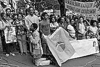 Vigilia por Tancredo Neves no Incor. São Paulo. 1985. Foto de Juca Martins.