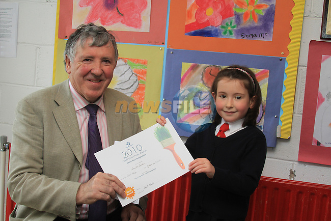 East Meath Credit Union Poster Competition.7 and Under 1st Camille larkin.Picture Fran Caffrey/www.newsfile.ie