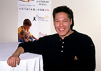 Montreal (Qc) CANADA - Dec 1996 File Photo -<br /> <br /> Claude McKenzie (born 1967 in Schefferville, Quebec) is a Canadian singer-songwriter. An Innu from Maliotenam, Quebec, he was half of the popular folk music duo Kashtin, the most commercially successful musical group in First Nations history.<br /> <br /> He released his debut solo album, Innu Town, in 1997. Two years later, he was seriously injured in a car accident, and did not record or perform again until 2002.<br /> <br /> -Photo (c)  Images Distribution