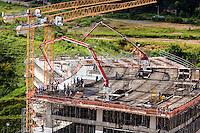 Belo Horizonte_MG, Brasil...Construcao do Centro Administrativo do Governo de Minas Gerais (Cidade Administrativa), o centro foi projetado por Oscar Niemeyer...The construction of the Minas Gerais Administrative Center (Administrative City), projected by Oscar Niemeyer...Foto: BRUNO MAGALHAES / NITRO