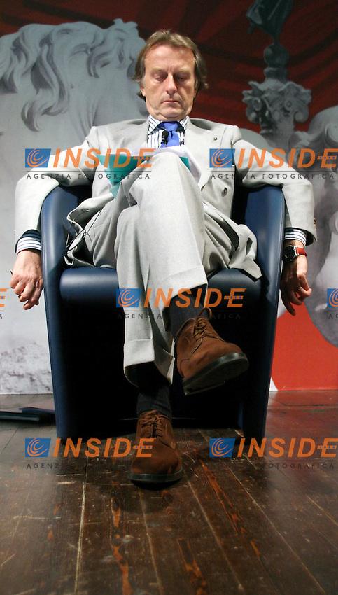 Roma 15 03 2006 Censis:Presentazione del Rapporto su Roma 2006<br /> Nella foto il Presidente di Confindustria Luca Cordero di Montezemolo<br /> Photo Serena Cremaschi Insidefoto