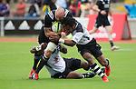 Hayden Triggs. Maori All Blacks vs. Fiji. Suva. MAB's won 27-26. July 11, 2015. Photo: Marc Weakley