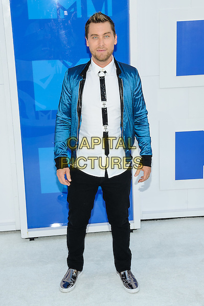 28 August 2016 - New York, New York - Lance Bass.  2016 MTV Video Music Awards at Madison Square Garden. <br /> CAP/ADM/MSA<br /> &copy;MSA/ADM/Capital Pictures