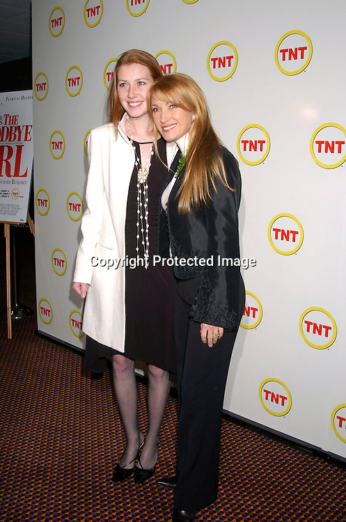 """Jane Seymour and daughter Katie Flynn..at a special screening of """"The Goodbye Girl"""" on January 12, 2004 at the Cinema 1 in New York City. It will be seen on TNT"""