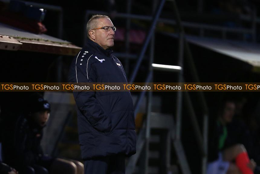 Dagenham assistant manager Terry Harris during Dagenham & Redbridge vs Maidenhead United, Vanarama National League Football at the Chigwell Construction Stadium on 7th December 2019